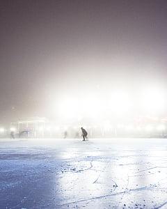 inimesed, külm, jää, Ilm, Skate, Sport, hobi
