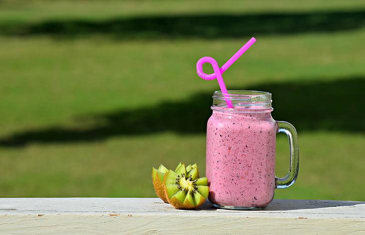 batut, aliments, beguda, fruita, desintoxicació, suc, Orgànica