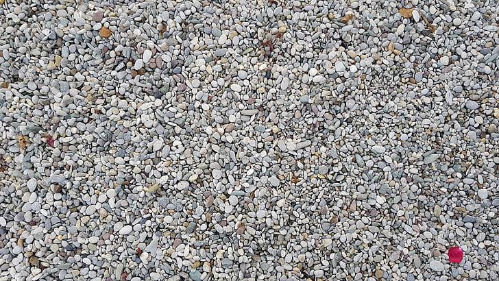 stenar, stranden, sommar, Rock, Pebble, bakgrunder, mönster
