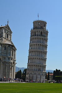 Pisa, Itaalia, Leaning tower, hoone, Landmark, Holiday, City