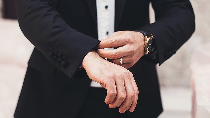 adult, appointment, business, businessman, close-up, deal, designer suit