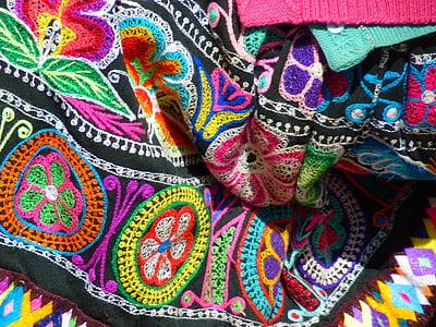 textílie, farebné, Farba, sfarbenie, oblečenie, Peru, Inca