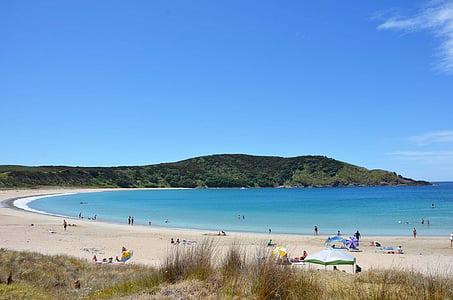 Nya Zeeland, Seaside, sandstrand
