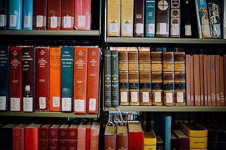 rafturi, Biblioteca, Orange, carti, Red, albastru, Citeste