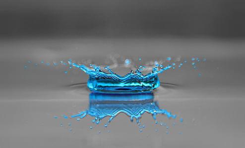 l'aigua, fotografia, gota d'aigua, degoteig, gota d'aigua, Corona, Bead