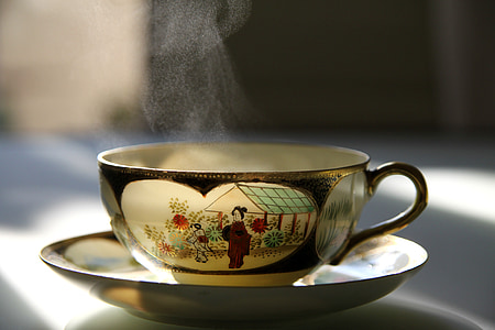 te, càlid, Copa, calenta, beguda, tassa de te, begudes