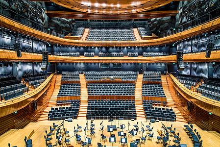 architecture, auditorium, concert, concert venue, hall, music, orchestra