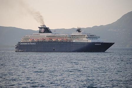 båt, havet, hamnen, kryssning, Holiday, lyx, nautisk