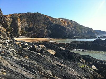 Beach, Portugali, Holiday, hiekkaranta, Sea, Sun
