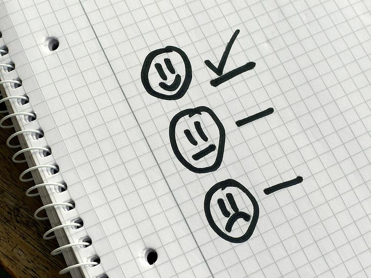 lista de verificación, opción, prioridades, encuesta, cuestionario, garrapata, Echale un vistazo