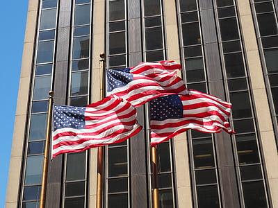 Hoa Kỳ, Hoa Kỳ, lá cờ, lá cờ