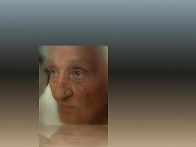 dimenticanza, servizio civile, cura, demenza, donna, vecchio, età