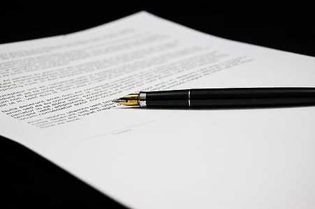 tài liệu, thỏa thuận, tài liệu, đăng nhập, kinh doanh, giấy, bút