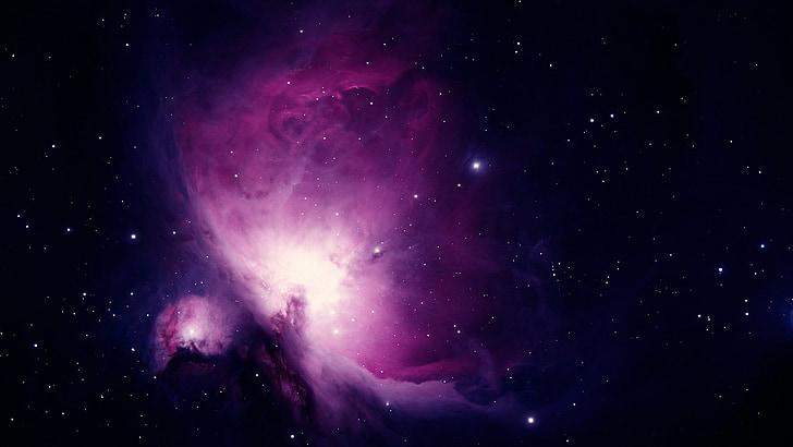 Orion nebula, nebula emisi, rasi bintang orion, Orion, NGC 1976, NGC 1982, Galaxy