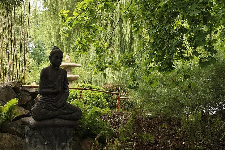 Ιαπωνία, Ζεν, Κήπος, ο Βούδας