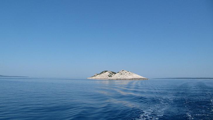 øya, natur, hav