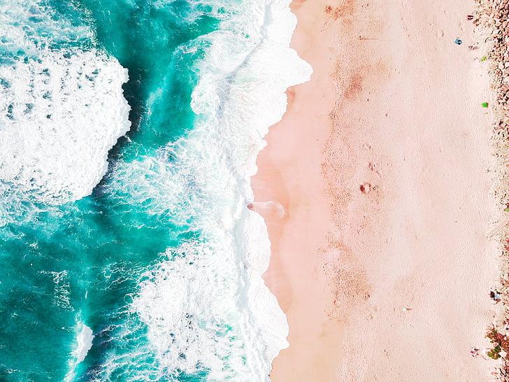 Sea, Ocean, vesi, aallot, Luonto, sininen, taivas