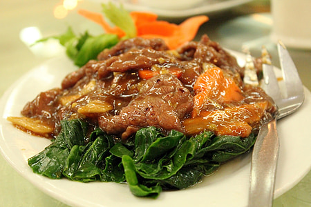 ビーフ シチューします。, 緑豊かなグリーン, 野菜, 牛肉, 食品, メイン ・ ディッシュ, 料理
