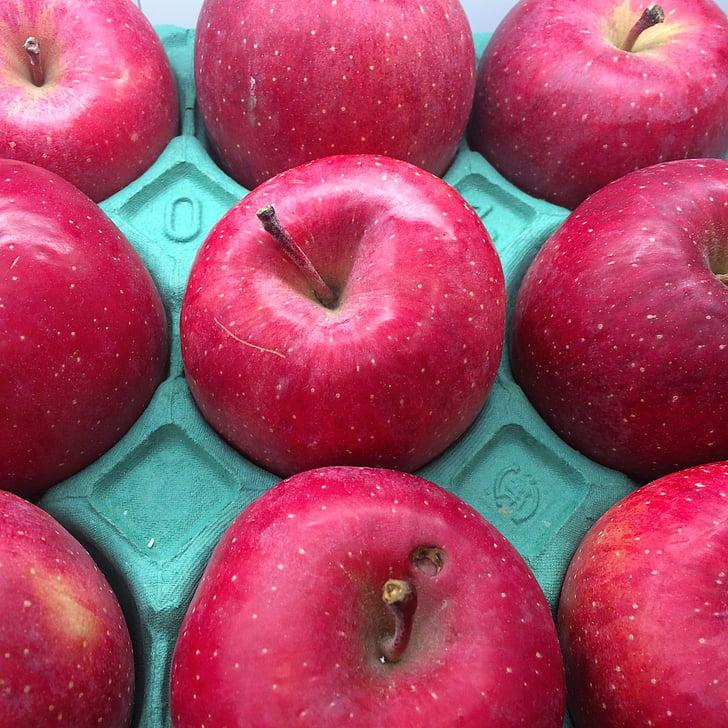 vermell, Ringo, Poma, Seiyu ltd, vivint, supermercat, fruites i verdures