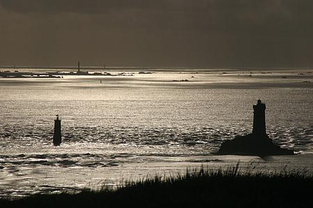 Mar, sol, torna la llum, l'aigua, reflectint, Reflexions