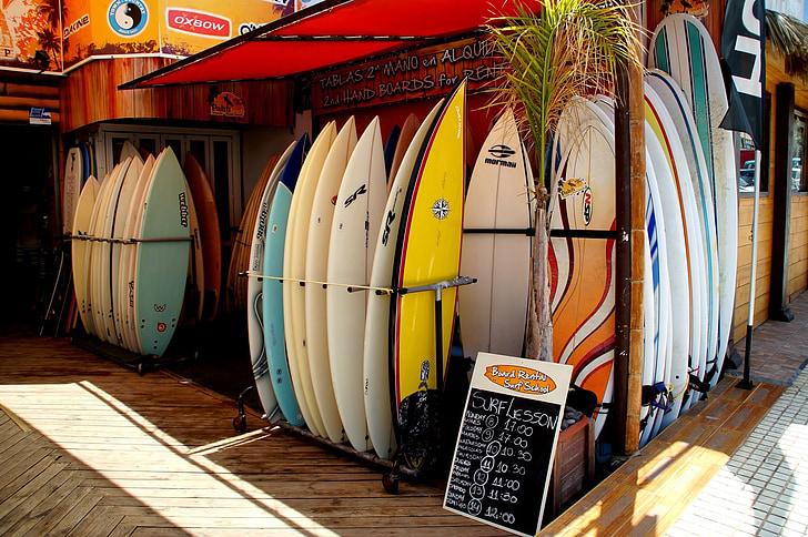Surf, Juhatus, Sea, Sport, Tenerife, barrel
