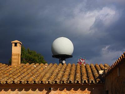 Santuari de nostra senyora de cura, kloster, Puig de randa, Balearerna Spanien, Mallorca, Courtyard, Algaida