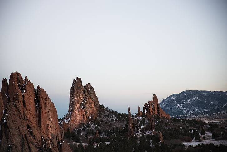 maisema, Mountain, ulkona, kivimuodostelma, Luonto, vuorenhuippu, scenics