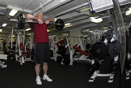 gym room, fitness, equipment, cardiovascular exercise, elliptical bike, cardio training, sports equipment