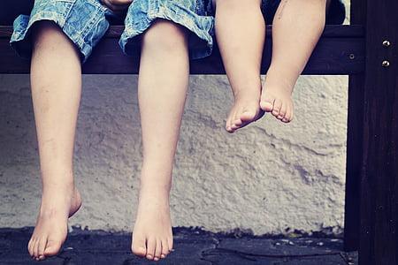 feet, children, ten, human, child's, barefoot, young