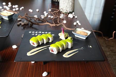 menjar asiàtic, sushi, asiàtic, japonès, Restaurant, arròs, Japó