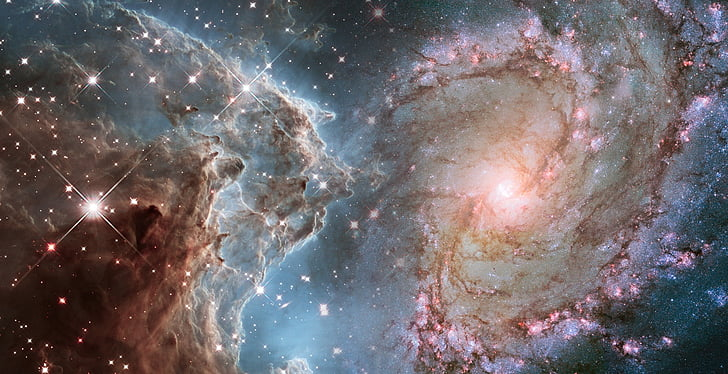 astronomy, hubble weltraumteleskop, universe universe, nasa, celestial body, creation, emergence