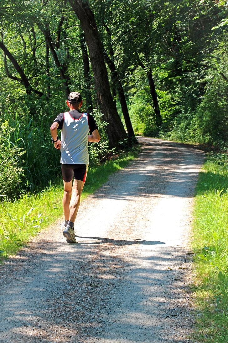 aktywny wypoczynek, odzyskiwanie, Jogger, jog, Uruchom, Sport, sportowy
