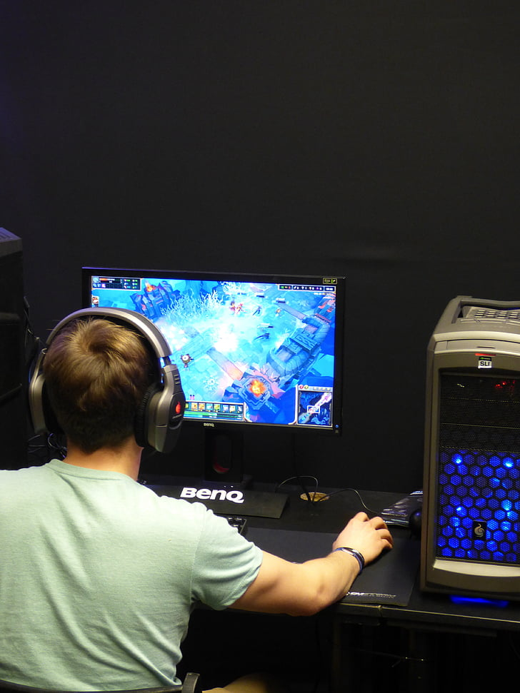 game, the strategy, computer, a computer game, monitor, the player