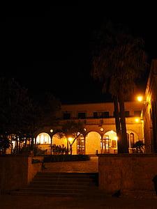 ingång, Courtyard, Arcades, kloster cura, Cura, Algaida, Hof