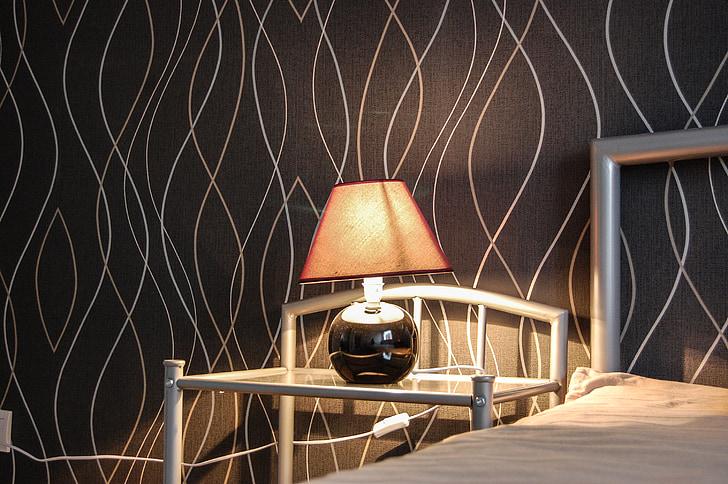 o interior do, arquitetura, humor, iluminação, projeto, design de interiores