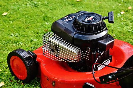 θεριστής χορτοταπήτων, κηπουρική, Mow, κοπή χόρτου, επιφάνεια χόρτου, Κήπος, κούρεμα γκαζόν