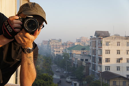 사진 작가, 사진, 스냅샷, 아시아, 카메라, 렌즈, 카메라-사진 장비