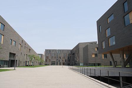 edifici, el paisatge, plaça