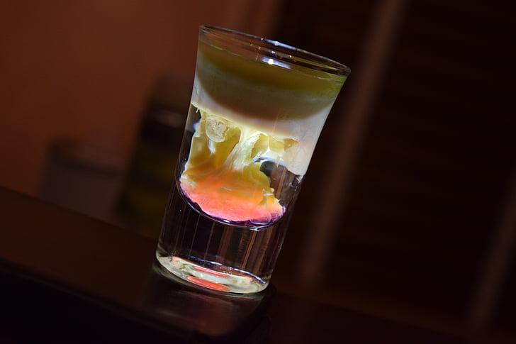 likööri, jook, shot, liköör, joomine, alkoholi