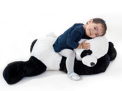τα μωρά, μωρό, Κορίτσι, προσφορά, Ευτυχισμένο, τα παιδιά, το παιδί