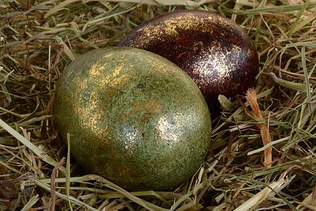 부활절 달걀, 부활절, 달걀, 장식, 부활절 장식, 행복 한 부활절, 그린