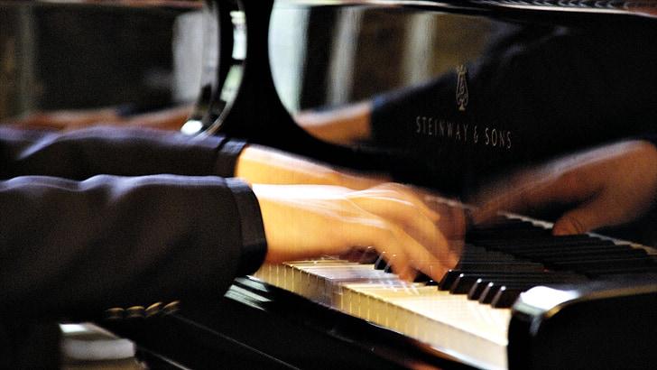 klavierspiel, klavír, klávesy, přístroj, Hudba, hra na klavír, hrát na klavír