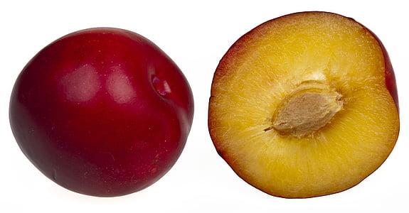 voće, zdrav, vitamini, jesti, dijeta, Crveni, šljive