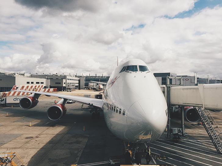 máy bay, JETWAY, đi du lịch, giao thông vận tải, chuyến đi, Gate