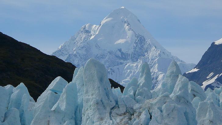 Alaska, la glacera, el Parc Nacional, gel, Mar, muntanyes