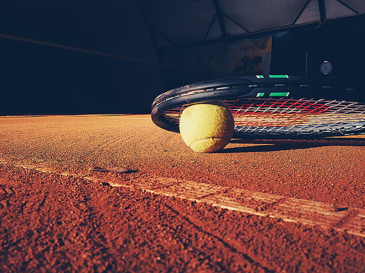 pilota, cort, exercici, pàdel, Raqueta, esport, Tennis de