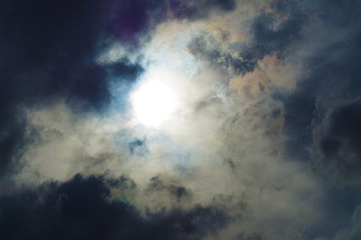 clouds, sky, dramatic