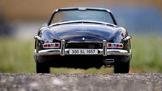 Zabawka, samochód, miniaturowe, Kabriolet, Mercedes, Benz