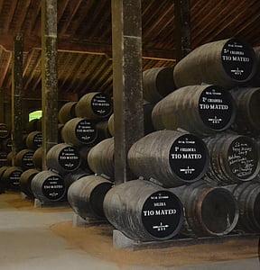 Winery, Sherry, vin, Cask, ANDANA, vinodling, Boot