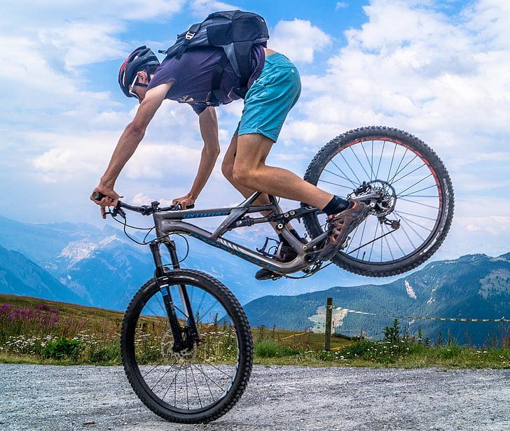 aktiv, aktivitet, sykkel, biker, sykling, syklist, Øvelse